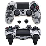 Pandaren FPS Ultra-ARMOR GEAR case cover for PS4 /SLIM /PRO controller (grey)