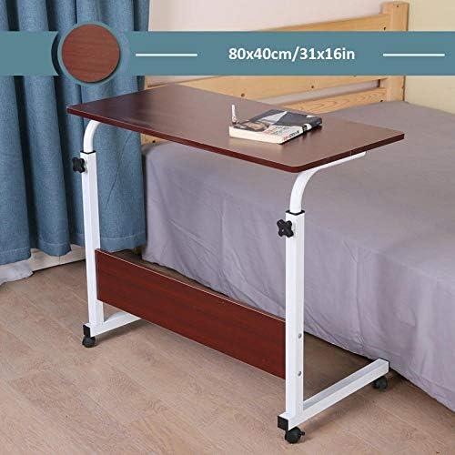 炭素鋼 ダイニングテーブル 赤密度ボード 付き,昇降式テーブル リフティングテーブル 高さ調節可能、ロック可能なキャスター