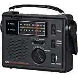 C Crane CC Solar Observer Wind Up Radio with AM FM Weather and built in LED Flashlight COBS