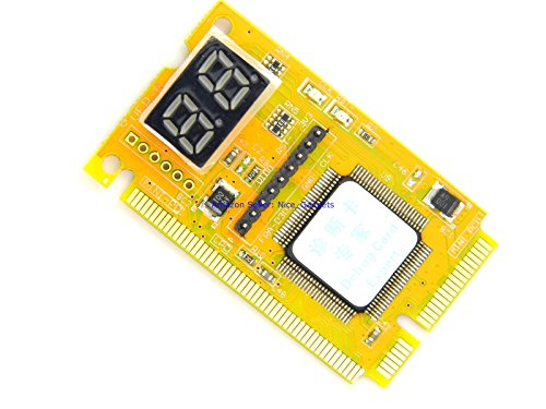 New Desktop PC and Laptop Computer Motherboard Power Diagnostic Analyzer Post Test Starter Kit by PcTestCard (Image #3)