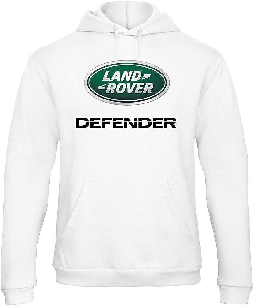 Sweat Shirt à Capuche Land Rover Defender 4X4 Rally Racing
