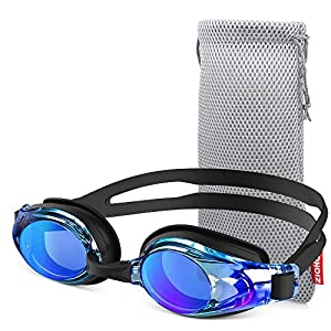 ZIONOR Swim Goggles for Men Women, Upgrade G8 Swimming Goggles for Adult Youth