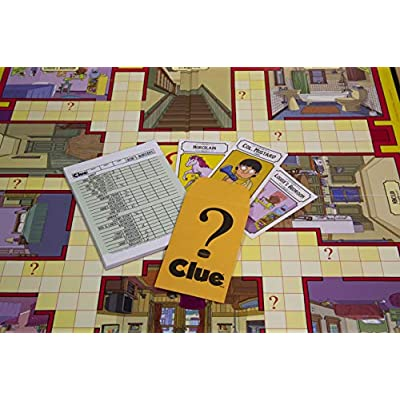 USAOPOLY Clue Bobs Burgers Board Game | Themed Bob Burgers TV Show Clue Game | Officially Licensed Bob's Burgers Game | Solve The Mystery in This Unique Clue take on The Classic Board Game: Toys & Games
