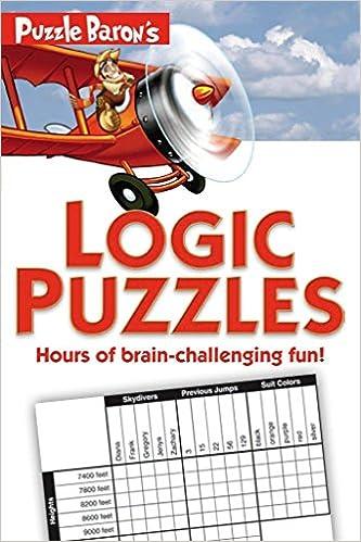 Puzzle Baron's Logic Puzzles: Amazon co uk: Stephen P Ryder