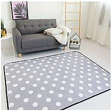 Simple Korean Design Kids Rug - Sofa Coffee Table Polyester Carpet Indoor Floor Decor 59 x 28 Inch
