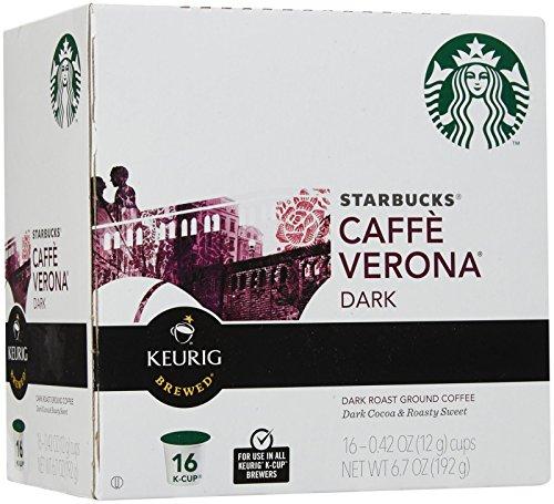 Starbucks Cafe Verona Coffee Keurig K-Cups, 16 Count by Starbucks (Image #1)