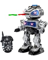Electronix Express 78ROBOTKID Robokid Programmable Disc Shooting Electric RC Robot