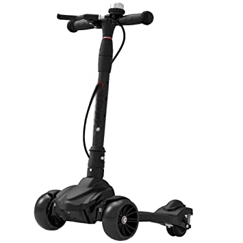 Amazon.com: LJHBC - Patinete de ruedas (altura ajustable ...