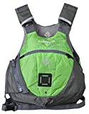 Stohlquist Edge Life Jacket, Lime Green/Gray, Large/X-Large
