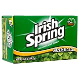 Irish Spring Soap Bulk Wholesale Lot 3.75oz 106g - for families, guests, airbnb, hotel, motel, resorts, lodging, missions, donations (144 Pack)