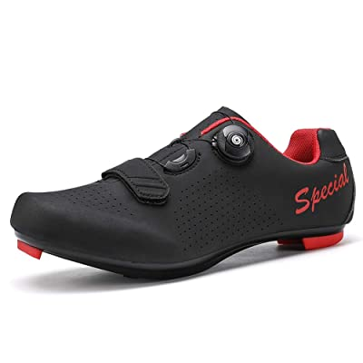 VILOCY Cycling Shoes for Mens Road Bike Touring Riding Indoor Shoes for Men