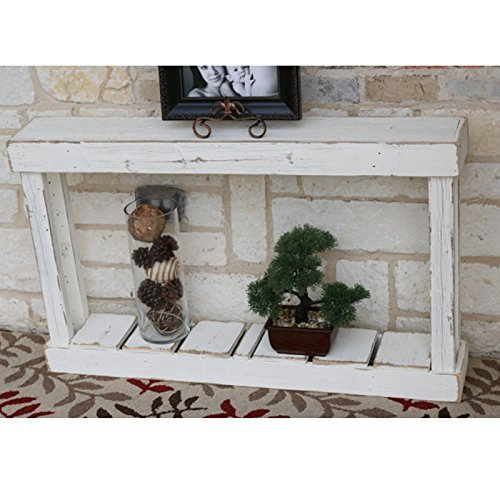 White 46″ single Top Console Review