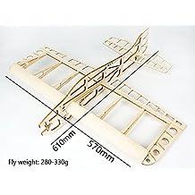 RC Airplane Balsawood Plane Sunday Wingspan 610mm Laser Cut Balsa Wood Model Airplane Building Kit