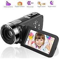 Video Camera Camcorder Full HD Digital Camera 1080p...