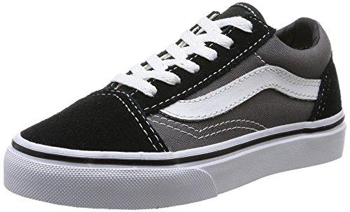 Vans Kids Old Skool Skate Shoe Black Pewter