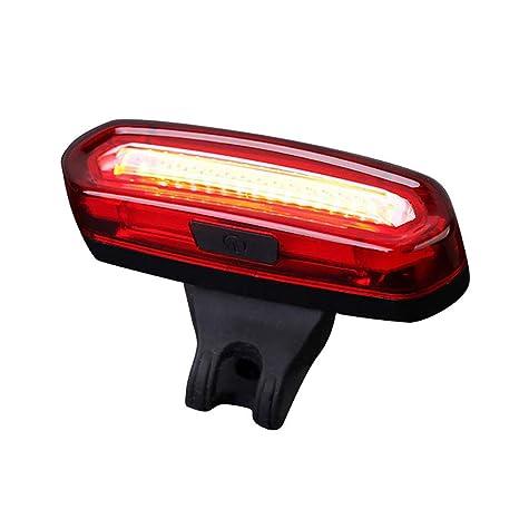 LILYTING wasserdichte LED Frontlicht R/ücklicht Fahrradlampe Set mit Gummib/änder,USB Wiederaufladbare Fahrradbeleuchtung Fahrradlampe Fahrradlampensets Licht f/ür Fahrrad 3 Licht-Modi,2 x CR2032 Rot