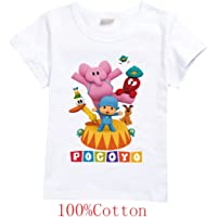 WATFULL Pocoyo - Camiseta para niños, unisex, diseño de dibujos animados