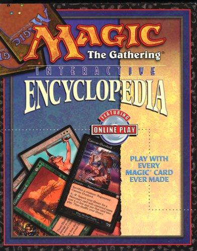 Magic the Gathering Interactive Encyclopedia - - Game Pc Magic Gathering