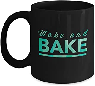 Weed Coffee Mug - Wake and Bake- 11 oz Marijuana Coffee Mug  sc 1 st  Amazon.com & Amazon.com: