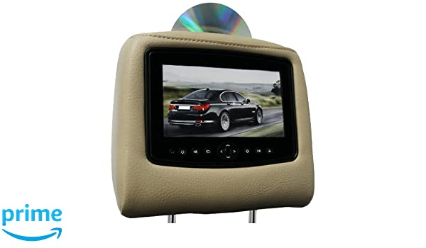 Carshow By Rosen Cs Fdexp07 T16 Single Dvd Headrest