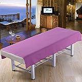 LWZY Linens Massage table sheet,waterproof sheets,spa linens,set of 2, cosmetic sheets/massage spa special sheets-E 200x80cm(79x31inch)
