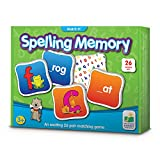 The Learning Journey: Match It! Memory - Spelling - Reading Game for Preschool and Kindergarten 26 Three and Four Letter Picture Word Marching Game