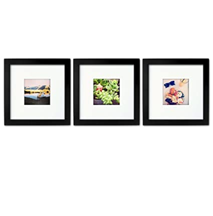 Amazon.com - 3-set, Tiny Mighty Frames - Wood, Square, Instagram ...