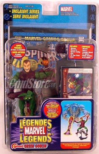Marvel Legends Series 13 > Green Goblin (Unmasked Chase Variant) Action -