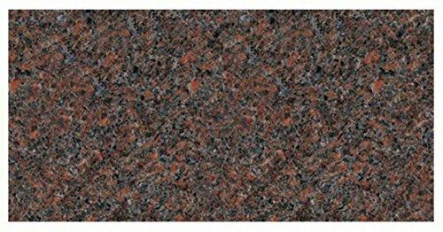 Mahogany Granite Dakota (Dakota Mahogany Flat Headstone)