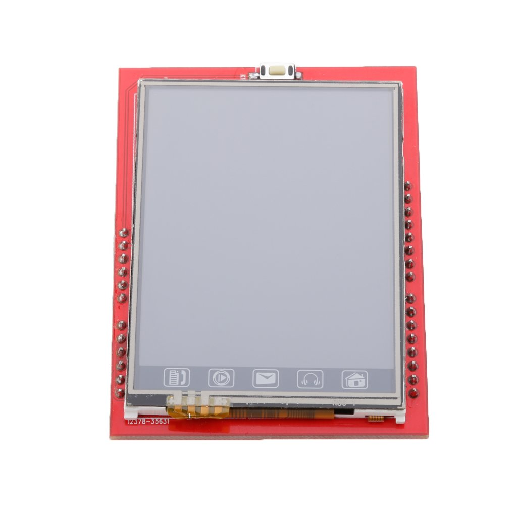 Gazechimp TFT LCD Shield Memory Socket Touch Panel Module Display 2.4 For Mega