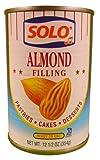 Solo Filling Almond, 12.5 oz