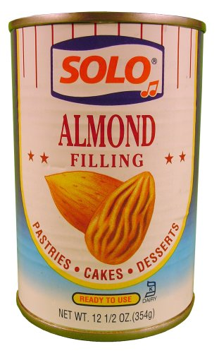 Solo Filling Almond, 12.5 oz