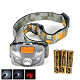LED Headlamp - Great for Camping, Hiking, Dog Walking, and Kids. One of