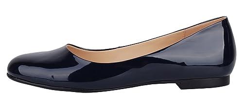 Verocara Pump102 - Mocasines de Charol para mujer: Amazon.es: Zapatos y complementos