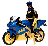 Barbie as Batgirl on Motorcycle