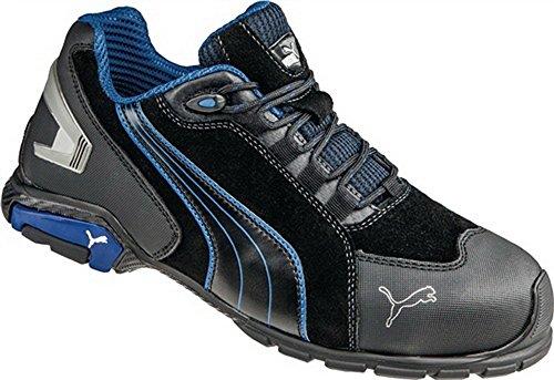 Chaussures de sécurité EN20345S3Rio Black Low Taille 45Daim Aluminium Capuchon
