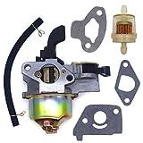 "FitBest Carburetor with Fuel Line Filter for 97CC 2.8HP Mini Baja Doodle Bug db30 Motovox MBX10 MBX11 Mini Pit Bike 3/5"" Air Intake"