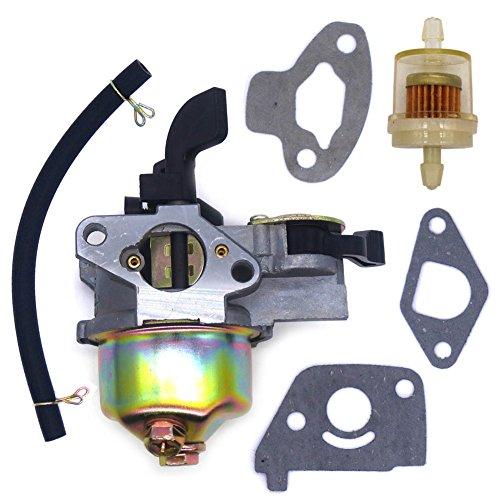Doodle Parts - FitBest Carburetor with Fuel Line Filter for 97CC 2.8HP Mini Baja Doodle Bug db30 Motovox MBX10 MBX11 Mini Pit Bike 3/5