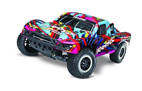 Traxxas Slash: 1 10-Scale Nitro-Powered 2WD Short Course Truck with TQ 2.4GHz radio and TSM - Hawaiian