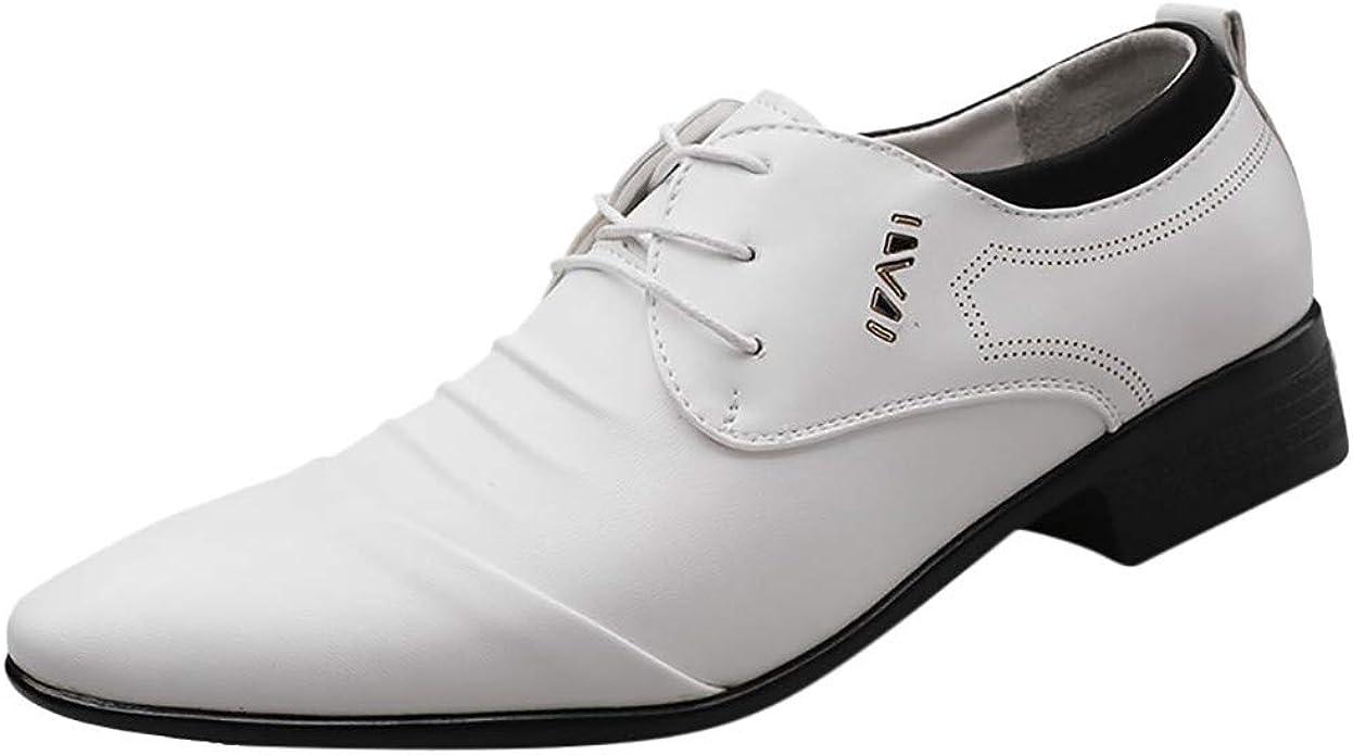 Zapatos de Trabajo Oxford para Hombre, con Agujeros Formales, de ...