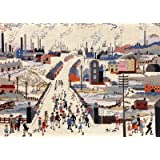 THE CANAL BRIDGE (Lowry) tapestry kit