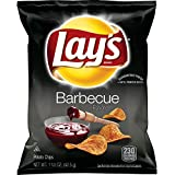 bbq chips lays - Lay's Barbecue Flavored Potato Chips, 1.5 Ounce (Pack of 64)