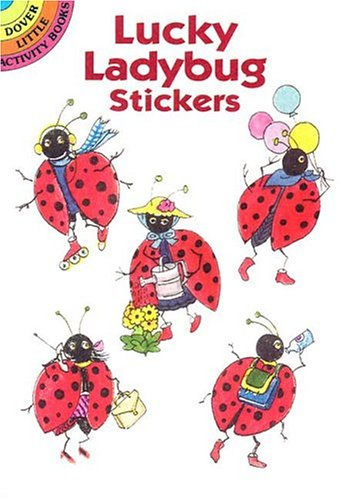 Lucky Ladybug (Dover Little Activity Books Stickers)