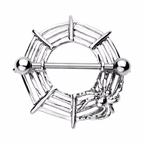 - Covet Jewelry Spider Nipple Shield