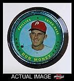 1971 Topps Coins # 31 Don Money Philadelphia Phillies (Baseball Card) Dean's Cards 4 - VG/EX Phillies