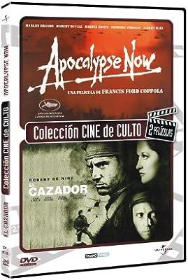 Pack Apocalypse Now + El Cazador [DVD]: Amazon.es: Apocalypse Now; Brando, Marlon, Duvall, Robert, Sheen, Martin, El cazador; De Niro, Robert, Cimino, Michael, Apocalypse Now; Ford Coppola, Francis, El cazador; Cimino, Michael,