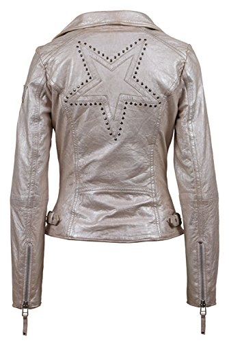 Nation para Star 4086 Magic Rosa Shm Rose Chaqueta Mujer Silver Freaky SxOwqO