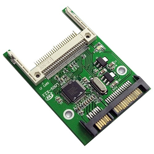 Compatible Compact Flash to 2 5inch SATA Converter Adapter