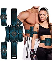 Faylor Muscle Stimulator Machine ABS Stimulator Trainer, Smart Home Fitness Device for Abdominal Muscle Massager and Training