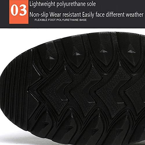 De Para 43 Antideslizantes Warm No Business Botas Algodón shoelaces Plus long Hombre Wang Winter Cuero Martín Velvet Zapatos Altas Cqx44P